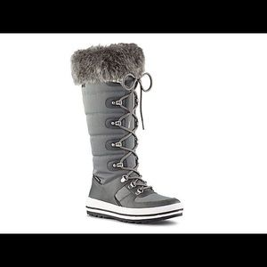 COUGAR NWT Vesta waterproof snow gray boots size 9